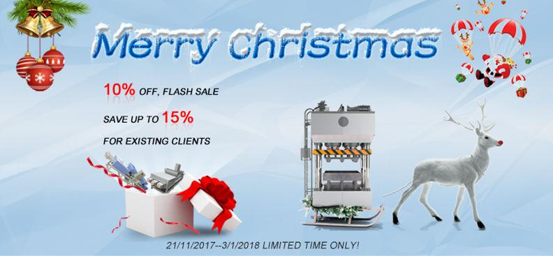 All machines are sold 10% off from Thoyu during Christmas
