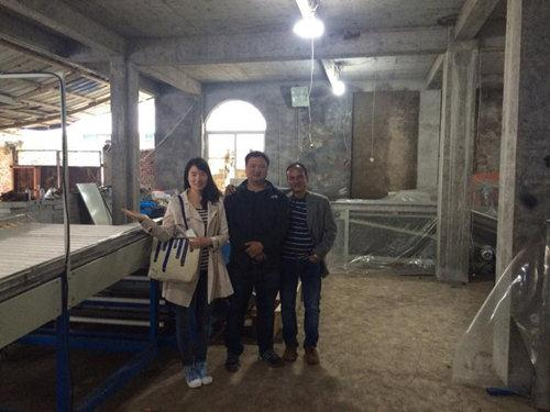 Bangladeshis visited our factory for potato cleaning grading line
