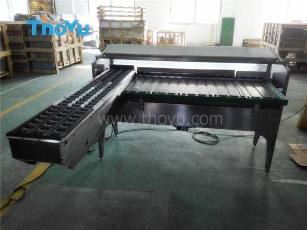 Whole line egg grading machine was sold to Puerto Rico in May 2016